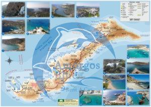 Amorgos map